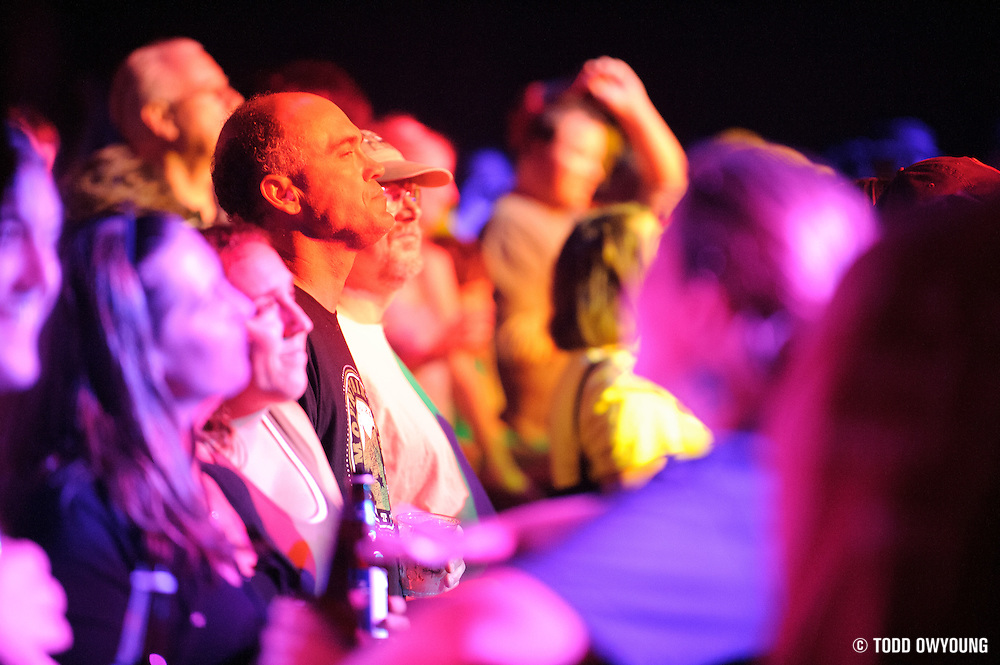 Fans at the Widespread Panic concert at the Peabody Opera House on October 12, 2011. (Todd Owyoung)