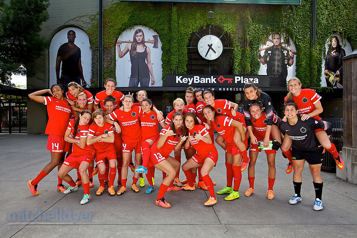 2014 Portland Thorns (Photo by Craig Mitchelldyer/Portland Thorns FC) (Craig Mitchelldyer/Portland Timbers)