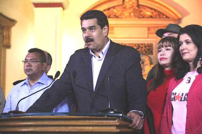 Venezuela quiere la normalizaci&oacute;n de relaciones con Estados Unidos