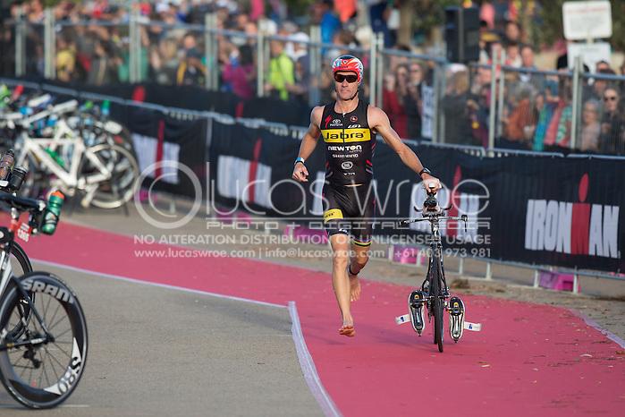 Craig ALEXANDER (AUS). Ironman Asia Pacific Championship Melbourne. Triathlon. Frankston And St Kilda, Melbourne, Victoria, Australia. 24/03/2013. Photo By Lucas Wroe (Lucas Wroe)