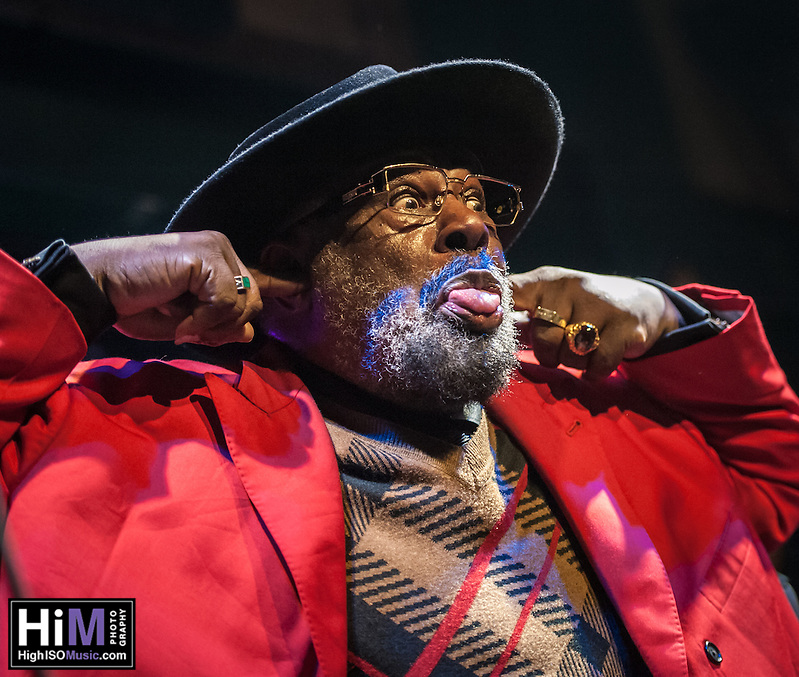 George Clinton and his band play at Tipitinas in New Orleans, LA on December 29, 2013. (HIGH ISO Music, LLC)