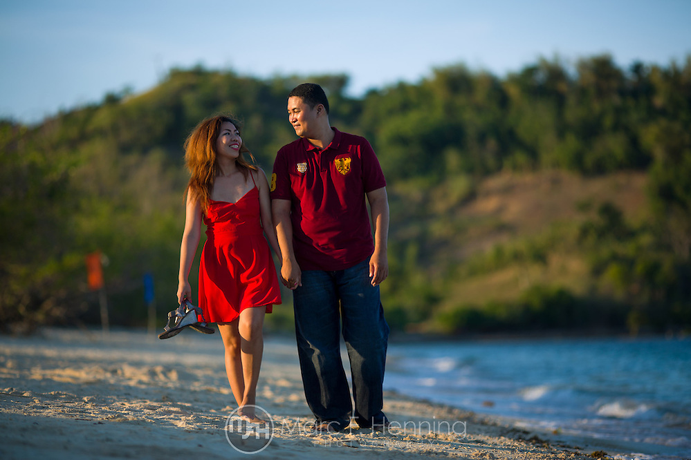 Photo by Marc F. Henning Dana Maliwanag and Janssen Fabular's engagement session on April 25, 2014, at Buktot Beach and Calameda Bay Resort in Cabalwa, Oriental Mindoro, Philippines. (MARC F. HENNING/MARC F. HENNING PHOTOGRAPHY)