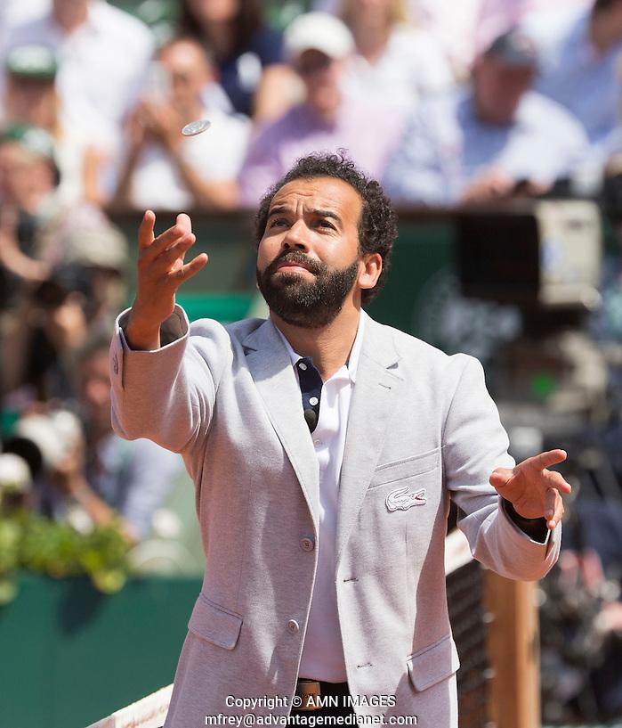 KADER NUNI, UMPIRE Tennis - French Open 2014 -  Roland Garros - Paris -  ATP-WTA - ITF - 2014  - France -  7th June 2014.  © AMN IMAGES (FREY/FREY- AMN Images)