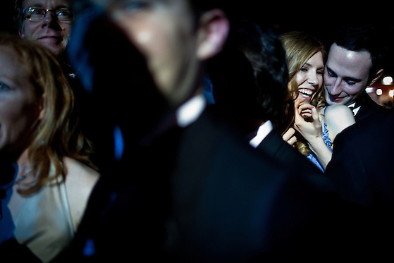 Attendees dance at the Inaugural Ball, January 21, 2013 in Washington, D.C. (Max Whittaker/Prime)