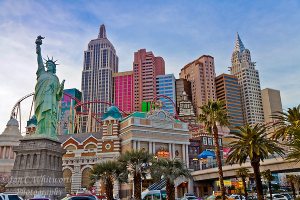 A view of New York, New York in Las Vegas (Ian C Whitworth)