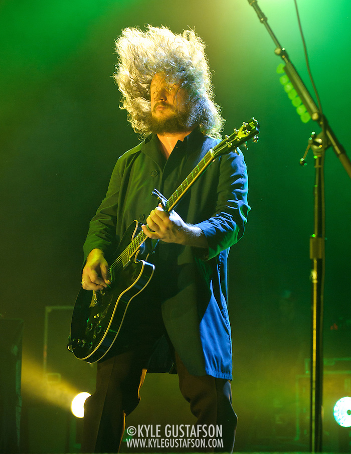COLUMBIA, MD, - August 12th, 2011 - My Morning Jacket wow fans at Merriweather Post Pavilion with a 24 song, 3 hour set. The band is currently touring behind their sixth studio album, Circuital, which was released in May.  (Photo by Kyle Gustafson/FTWP) (Kyle Gustafson/FTWP)