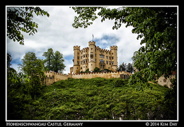 Hohenschwangau Castle Germany  May 2014 (Kim Day)
