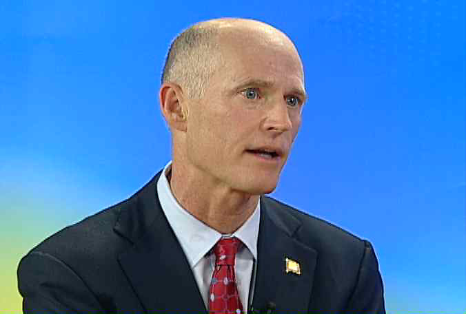 El gobernador de la Florida, Rick Scott