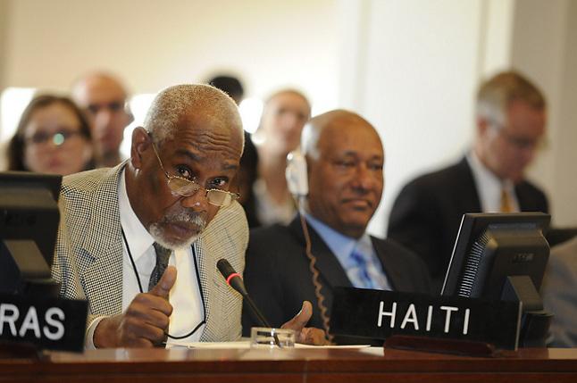 Guy Alexandre, embajador de Haití ante la OEA