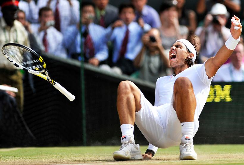 4TH JULY 2010, WIMBLEDON TENNIS CHAMPIONSHIPS, RAFAEL NADAL DEFEATS TOMAS BERDYCH IN THE WIMBLEDON CHAMPIONSHIPS MENS FINAL 2010, ROB CASEY PHOTOGRAPHY (ROB CASEY/ROB CASEY PHOTOGRAPHY)