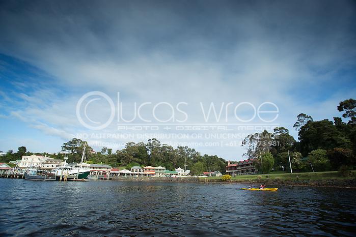 Team Macks Advisory (Denis Perry and Nicholas White). Adventure Racing. Swisse Mark Webber Challenge 2013. Tasmania, Australia. 29/11/2013. Photo By Lucas Wroe (Lucas Wroe)