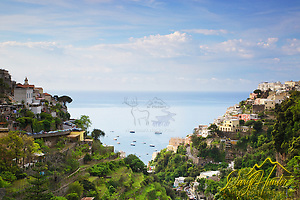 Positano the best know town on the Amalfi Coast