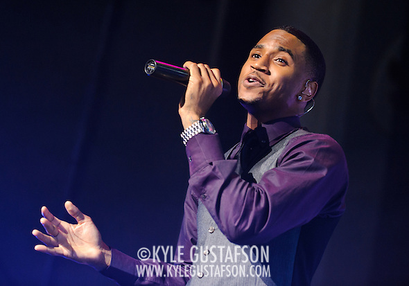 Trey Songz performs at DAR Constitution Hall in Washington D.C. in September 2010. (Photo by Kyle Gustafson)