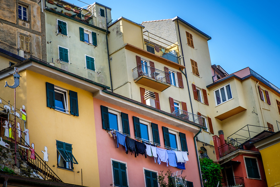 MANAROLA, ITALY - CIRCA MAY 2015: Village of Manarola in Cinque Terre, Italy. (Daniel Korzeniewski)