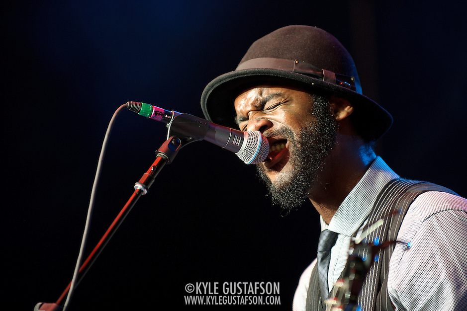 COLUMBIA, MD - May 11th,  2013 -   Gary Clark, Jr. performs on the Main Stage at the 2013 Sweetlife Music and Food Festival at Merriweather Post Pavilion in Columbia, MD.  (Photo by Kyle Gustafson/For The Washington Post) (Kyle Gustafson/For The Washington Post)