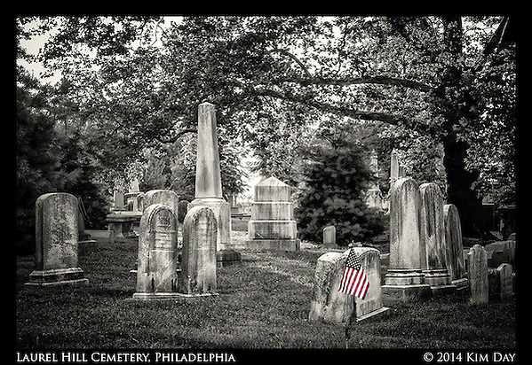 Laurel HIll Cemetery - Philadelphia July 2014 (Kim Day)
