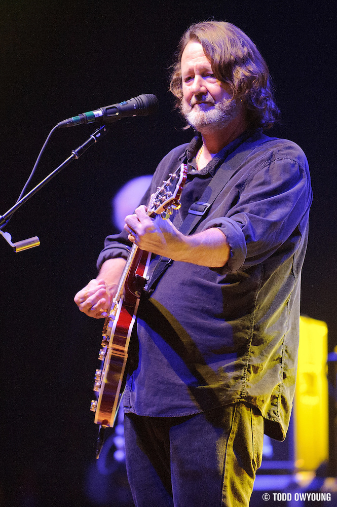 Widespread Panic performing at the Peabody Opera House in St. Louis on their 25th anniversary tour on October 11, 2011. (Todd Owyoung)