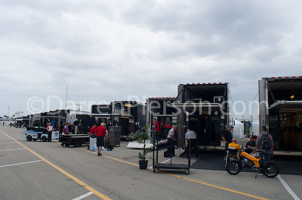 P and PC Haulers being loaded (Darren Pierson)