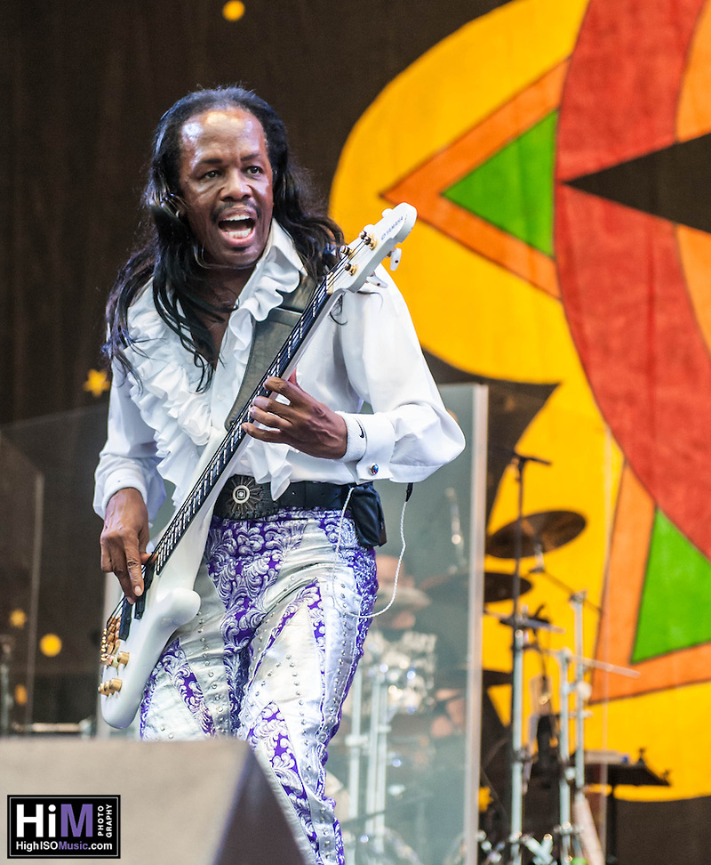 Earth, Wind, and Fire perform at the 2013 New Orleans Jazz and Heritage Festival on April 28, 2013 in New Orleans, LA. © HIGH ISO Music, LLC / Retna, Ltd. (HIGH ISO Music, LLC)