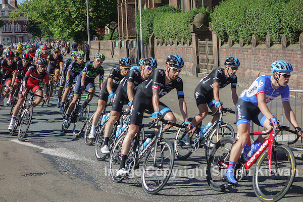 Bradley Wiggins & Team Sky, Liverpool, Tour of Britain 2014 - Photo By Simon Kirwan