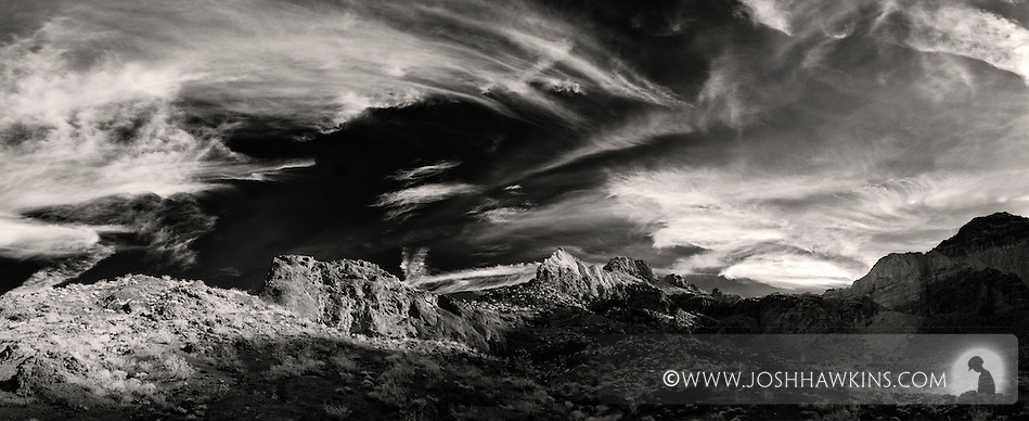 Boy Scout Canyon just outside of Las Vegas, NV, by Black Canyon and the Colorado River.  Shoot in infrared. (Josh Hawkins)