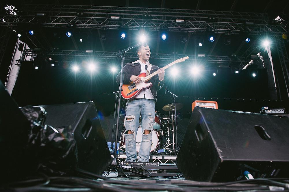 Photos of Kaleo performing live at Secret Solstice Music Festival 2014 in Reykjavík, Iceland. June 21, 2014. Copyright © 2014 Matthew Eisman. All Rights Reserved (Matthew Eisman/Photo by Matthew Eisman)