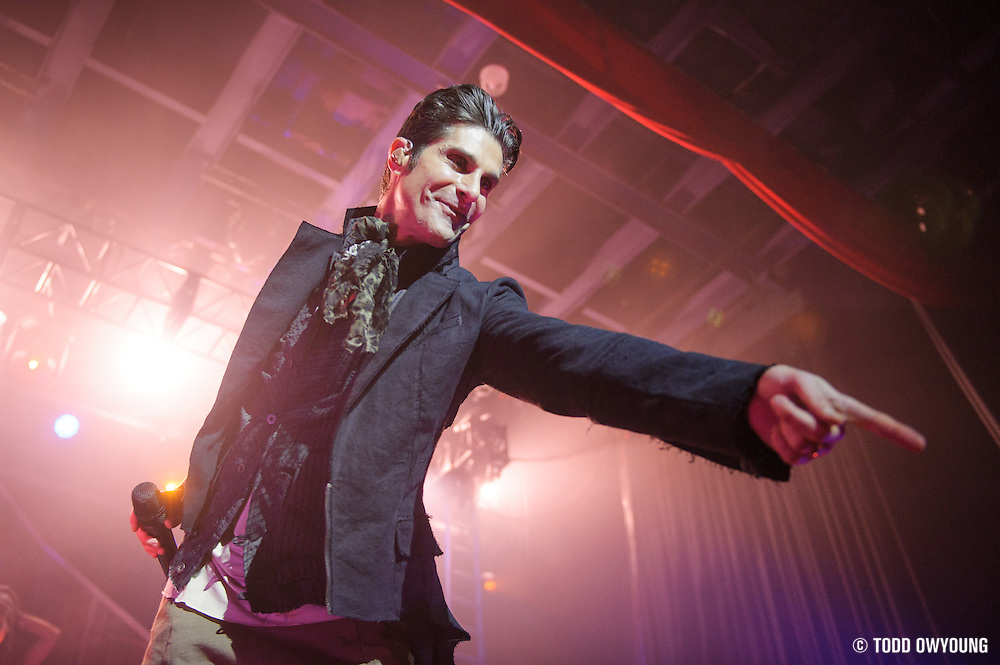 Jane's Addiction on the opener of their 2012 tour at the Pageant in St. Louis, Missouri on February 22, 2012. (Todd Owyoung)