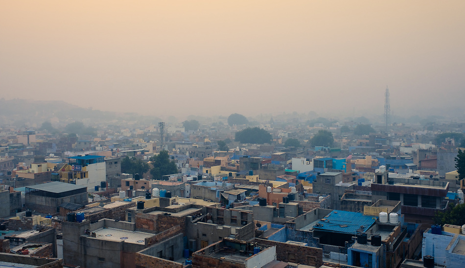 JODHPUR, INDIA - CIRCA NOVEMBER 2016: Panoramic view of Jodhpur (Daniel Korzeniewski)