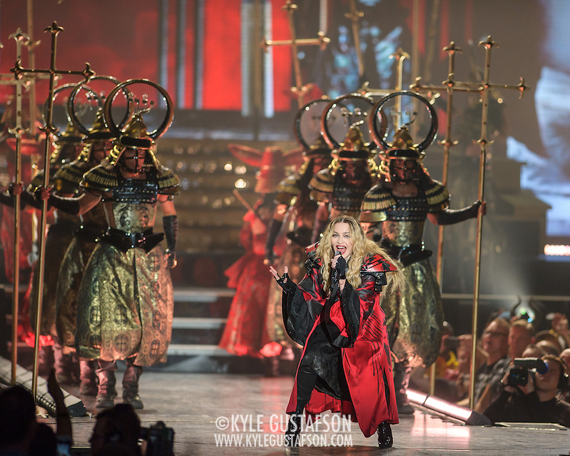 WASHINGTON, DC - September 12, 2015 - Madonna performs at the Verizon Center in Washington, D.C. on the third date of her Rebel Heart Tour. (Photo by Kyle Gustafson / For The Washington Post) (Kyle Gustafson/For The Washington Post)