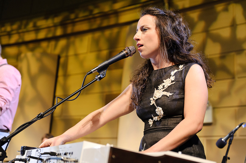 Photos of the band Lost in the Trees performing at the 11th annual Jed Foundation gala event in Gotham Hall, NYC. June 7, 2012. Copyright © 2012 Matthew Eisman. All Rights Reserved. (Photo by Matthew Eisman/Getty Images)