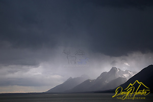 "Thunderstorm, Grand Tetons, Jackson Lake, Grand Teton National Park (© Daryl Hunter's ""The Hole Picture""/Daryl L. Hunter)"