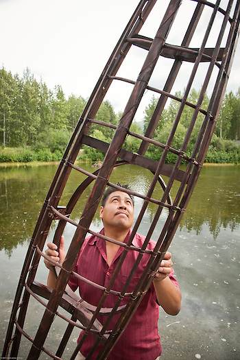 Andrew Abyo, Anchorage Native Heritage Center (Clark James Mishler)