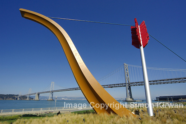 Cupid's Span, Rincon Park, San Francisco, California - Travel Photography By Simon Kirwan