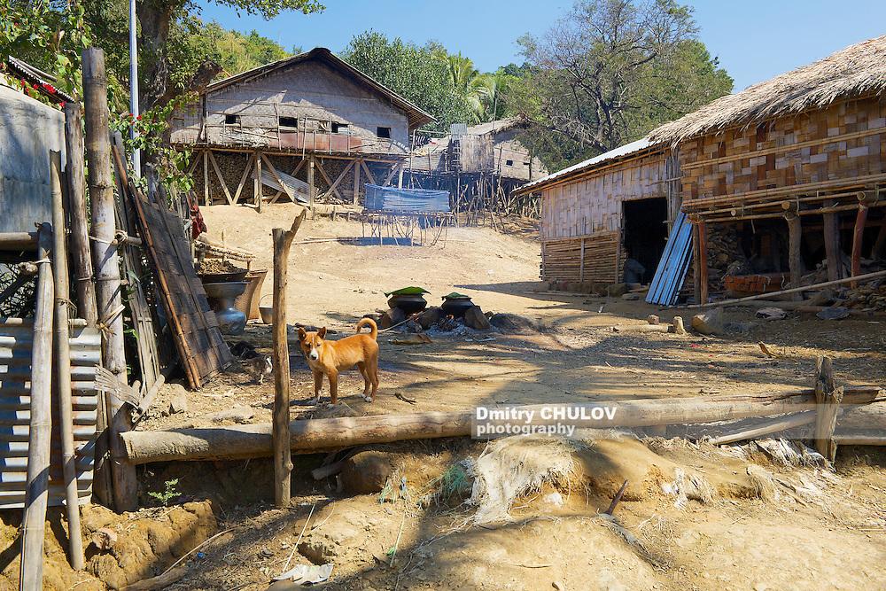 Marma hill tribe village near Bandarban, Bangladesh (Dmitry Chulov)