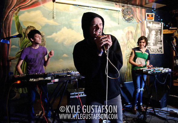 AUSTIN, TX - March 16th: True Womanhood performs at the DC Does Texas showcase at Jovejoys as part of the 2011 South by Southwest Festival. (Photo by Kyle Gustafson) (Kyle Gustafson/For The Washington Post)