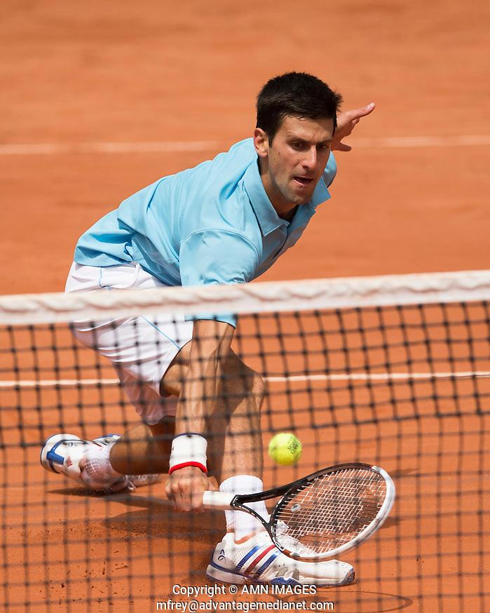 NOVAK DJOKOVIC (SRB) Tennis - French Open 2014 -  Toland Garros - Paris -  ATP-WTA - ITF - 2014  - France  30th June 2014.  © AMN IMAGES (FREY/FREY- AMN Images)