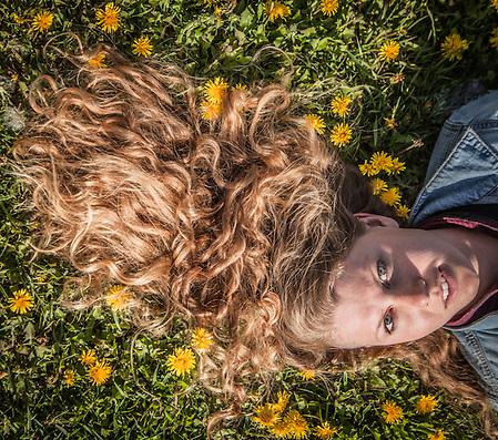 Holly Furman on the Delaney Park Strip, Anchorage (© Clark James Mishler)