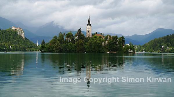 Blejski Otok, Lake Bled, Slovenia - Travel Photography By Simon Kirwan