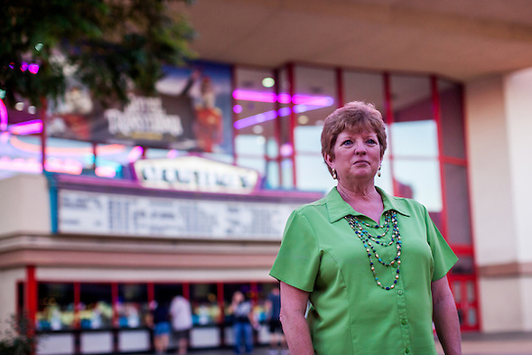 Martha Tessmer, the Founder of Mother of an Angel Friendship Network, has not been able to attend movies since her son Donovan died in a distracted driving accident. (bryan farley)