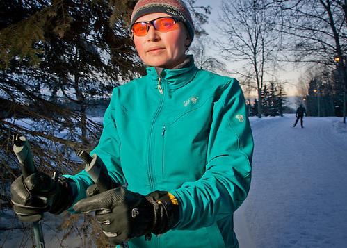 Environmental engineer, Melissa Becker, Anchorage (Clark James Mishler)