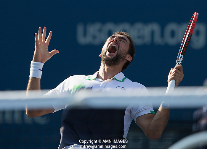 MARIN CILIC (CRO) The US Open Tennis Championships 2014 - USTA Billie Jean King National Tennis Centre -  Flushing - New York - USA -   ATP - ITF -WTA  2014  - Grand Slam - USA   4th September 2014  © AMN IMAGES (FREY/FREY-AMN IMAGES)