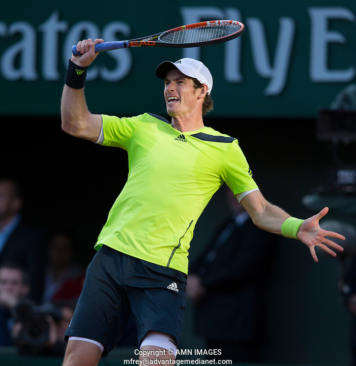 ANDY MURRAY (GBR) Tennis - French Open 2014 -  Toland Garros - Paris -  ATP-WTA - ITF - 2014  - France -  4th June 2014.  © AMN IMAGES (FREY/FREY- AMN Images)