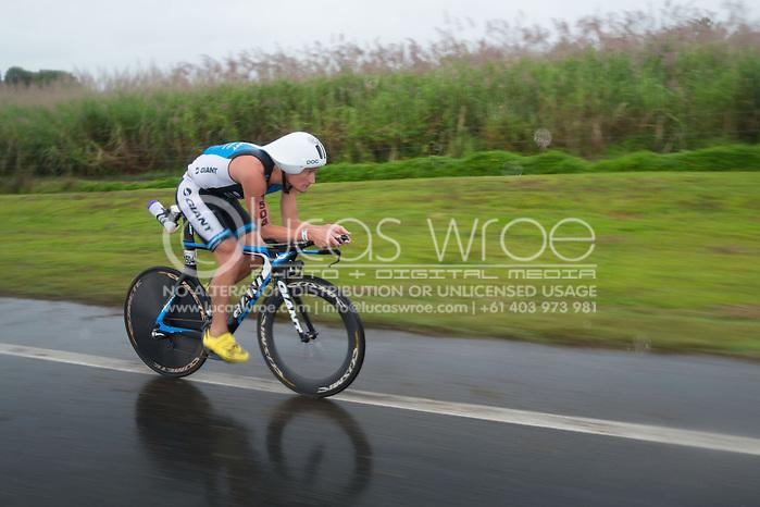 Clayton Fettell (AUS), June 8, 2014 - TRIATHLON : Ironman Cairns 70.3 / Cairns Airport Adventure Festival, Palm Cove - Captain Cook Highway - Cairns Esplanade, Cairns, Queensland, Australia. Credit: Lucas Wroe (Lucas Wroe)