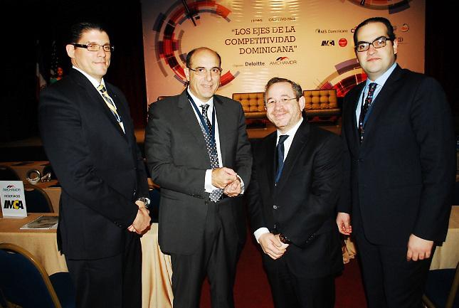 Gustavo Mejía Ricart, José Luis De Ramón, Gurocuya Félix y Nassim Alemany