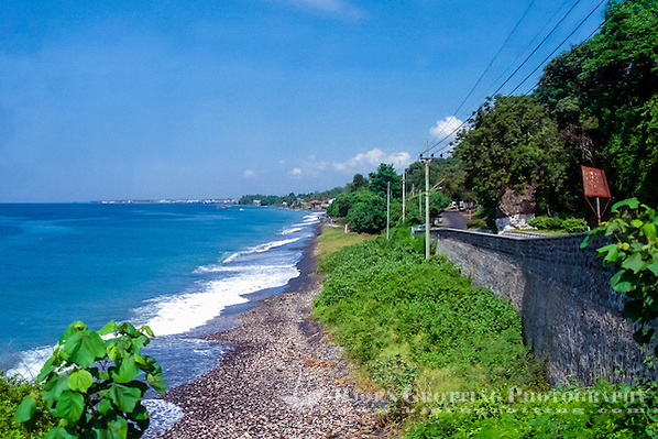 Java, Banyuwangi. Looking south towards Ketapang and Banyuwangi. (Photo Bjorn Grotting)