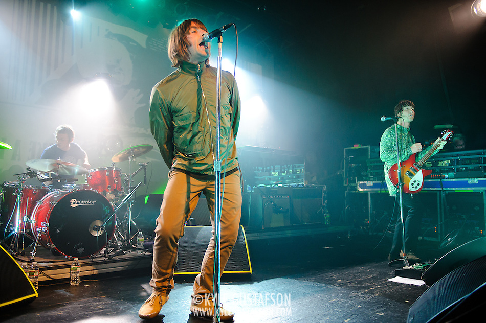 PHILADELPHIA, PA - June 25th, 2011 - Former Oasis frontman Liam Gallagher brings his new band Beady Eye to Philadelphia on their  debut North American tour. The band released their first album, Different Gear, Still Speeding, earlier this year. (Phots by Kyle Gustafson) (Photo by Kyle Gustafson)