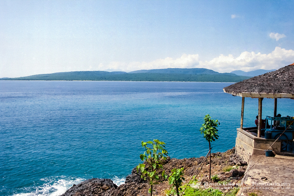 Java, Banyuwangi. View from Java to Bali, close to the ferry terminal near Banyuwangi. (Photo Bjorn Grotting)