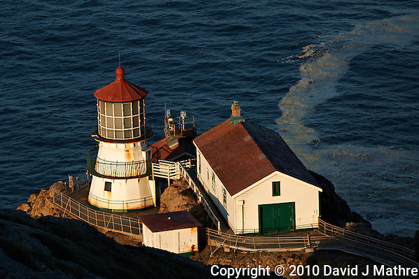 Morning Light at Point Reyes Lighthouse. Point Reyes National Seashore. Image taken with a Nikon D3x and 180 mm f/2.8 lens (ISO 100, 180 mm, f/4, 1/250 sec). (David J Mathre)