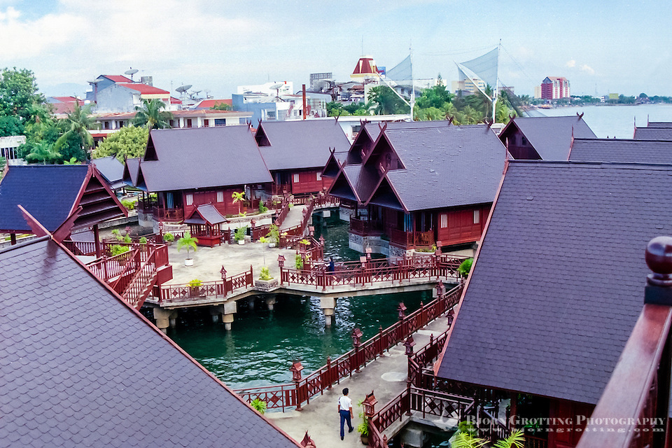 South Sulawesi, Makassar. Hotel at the waterfront in Makassar. (Photo Bjorn Grotting)