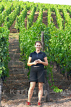 vineyard virpi sorvisto brand gc turckheim alsace france (Per Karlsson © info@bkwine.com)